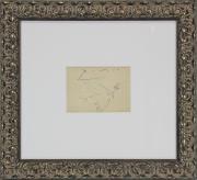 Pablo Picasso Signed Framed 5x6.5 Original Dove of Peace Artwork BAS