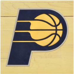 "NBA Indiana Pacers 12"" x 12"" Logo Floor Piece"
