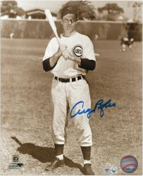 "Andy Pafko Chicago Cubs Autographed 8"" x 10"" Pose Photograph"