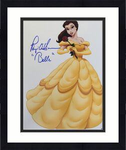 "Paige O' Hara ""Belle"" Signed Beauty & The Beast 11x14 Photo Beckett BAS COA A"