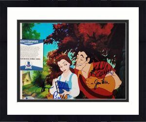 Paige O'Hara & Richard White signed Beauty and the Beast 8x10 Photo 2 ~ BAS COA