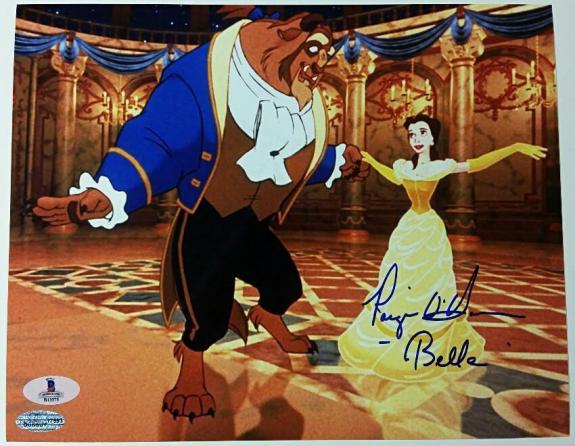 PAIGE O'HARA Signed 8x10 Photo #3 BEAUTY AND THE BEAST Auto ~ Beckett BAS COA