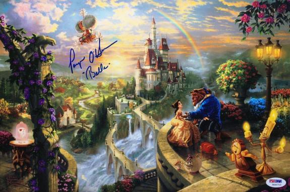 """Paige O'Hara Signed 'Beauty And The Beast' 10x15 Photo """"Belle"""" PSA 5A66710"""