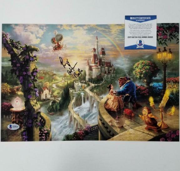 Paige O'Hara signed Beauty and the Beast 10x15 Photo Disney Belle ~ BAS COA