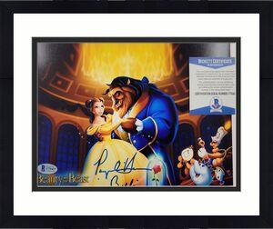 Paige O'Hara signed Beauty and the Beast 8x10 Photo #1 Belle Voice ~ BAS COA