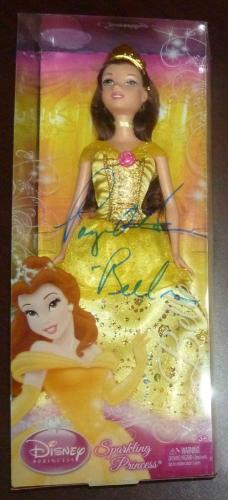 Paige O'Hara Signed Beauty and the Beast Belle Doll PSA/DNA COA Disney Princess