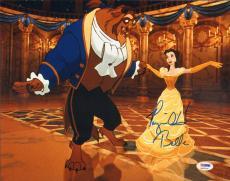 Paige O'Hara Signed Beauty & the Beast Belle 11x14 Photo PSA/DNA Disney Princess