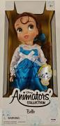 PAIGE O'HARA Signed Beauty & The Beast Belle ANIMATOR'S COLLECTION Doll BLK PSA
