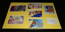Paige O'Hara Signed Framed Beauty & The Beast Belle 12x18 Photo Display