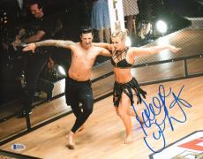Paige VanZant Signed 11x14 Photo BAS COA UFC Dancing with the Stars Mark Ballas