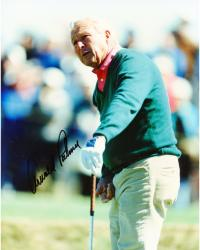 Fanatics Authentic Autographed Arnold Palmer 8'' x 10'' Green Jacket Club Down Photograph