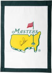Fanatics Authentic Autographed Arnold Palmer Masters Golf Pin Flag