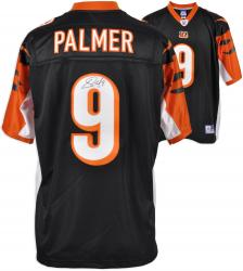 Cincinnati Bengals Carson Palmer Signed Reebok Premier Jersey - Black