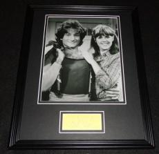 Pam Dawber Signed Framed 11x14 Photo Display JSA Mork & Mindy w/ Robin Williams