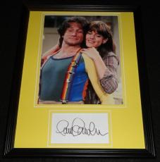 Pam Dawber Signed Framed 11x14 Photo Display Mork & Mindy w/ Robin Williams