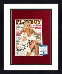 "Pamala Anderson, ""Autographed"" (Beckett) ""PLAYBOY"" Magazine (BAYWATCH)"