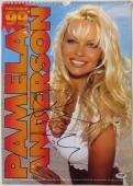 Pamela Anderson Authentic Signed Sexy Full Size 1999 Calendar PSA/DNA #AC18258