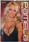 Pamela Anderson Authentic Signed Sexy Full Size 2004 Calendar PSA/DNA #AC18256