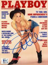 Pamela Anderson Autographed July 1992 Playboy Magazine - BAS COA