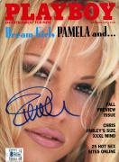 Pamela Anderson Autographed September 1997 Playboy Magazine - BAS COA