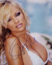 Pamela Anderson Signed 11x14 Photo PSA/DNA V60824 Playboy Playmate Pam Anderson