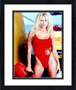 Pamela Anderson Signed - Autographed Baywatch 11x14 inch Photo - Guaranteed to pass BAS