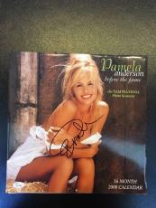 Pamela Anderson Signed Autographed Sexy Model Photo Calendar JSA COA
