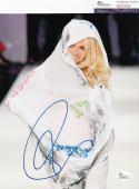 Pamela Anderson signed *Baywatch* Sexy 8x10 photo autographed JSA COA Q30628