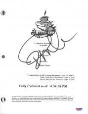 Pamela Anderson Signed Stacked Autographed Script (PSA/DNA) #D27766