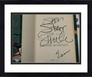 Pamela Anderson Signed STAR Novel Book PSA/DNA COA First Edition Autograph +Eric