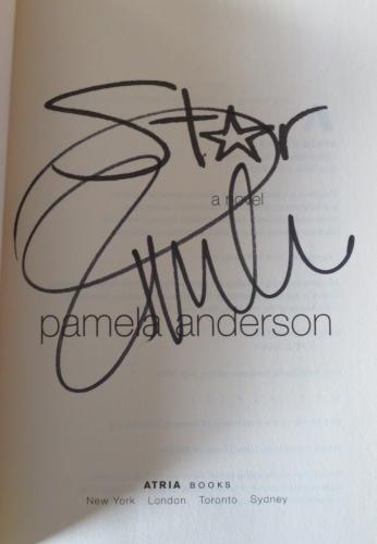 Pamela Anderson Star Signed Novel Hardcover Book Authentic Autograph Coa