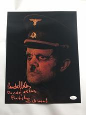 Pancho Moler Signed Autograph 11x14 Photo Rob Zombie 31 Sick Head JSA COA 2