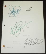 PANIC ROOM Signed - Autographed Script by Jodie Foster, Kristen Stewart, Forest Whitaker, and Jared Leto