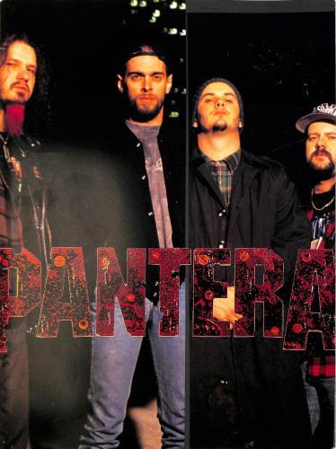 Pantera 1994 Original Far Beyond Driven Japan Tour Program Un-signed