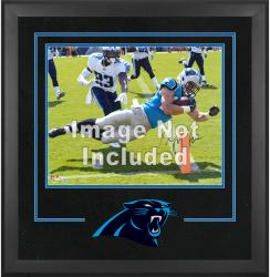 Carolina Panthers Deluxe 16'' x 20'' Horizontal Photograph Frame with Team Logo - Mounted Memories