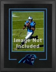 Carolina Panthers Deluxe 16'' x 20'' Vertical Photograph Frame with Team Logo - Mounted Memories