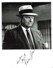 "PARLEY BAER as MAYOR STONER of ""THE ANDY GRIFFITH SHOW"" Passed Away 2002 - Signed 8x10 B/W Photo"