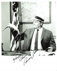 "PARLEY BAER - ""THE ANDY GRIFFITH SHOW"" Known as MAYOR STONE - Passed Away 2002 - Signed 8x10 B/W Photo"