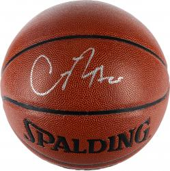 Chandler Parsons Dallas Mavericks Autographed Spalding Indoor Outdoor Basketball