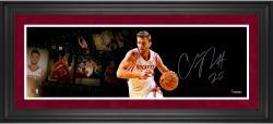 "Chandler Parsons Houston Rockets Framed Autographed 10"" x 30"" Filmstrip Photograph"