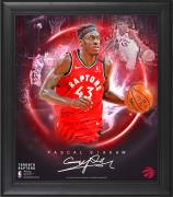 "Pascal Siakam Toronto Raptors Framed 15"" x 17"" Stars of the Game Collage - Facsimile Signature"