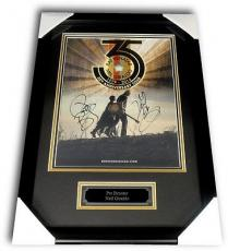 Pat Benatar Neil Giraldo Dual Hand Signed Autographed 12x15 Poster Custom Framed