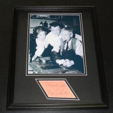 Pat Crowley Signed Framed 11x14 Photo Display Twilight Zone