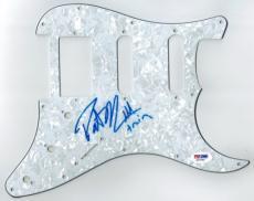 Pat Monahan Signed Train Authentic Autographed Pickguard PSA/DNA #Z37046