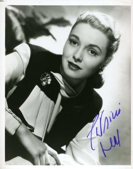 Patricia Neal Jsa Coa Hand Signed 8x10 Photo Autograph Authentic