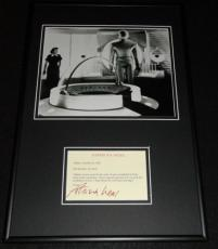 Patricia Neal Signed Framed Note & Photo Display The Day The Earth Stood Still B