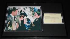 Patricia Neal Signed Framed Typed Letter & Photo Display Breakfast at Tiffany's
