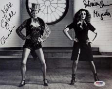 Patricia Quinn ~ Nell Campbell Signed Rocky Horror Picture Show 8x10 Photo PSA A