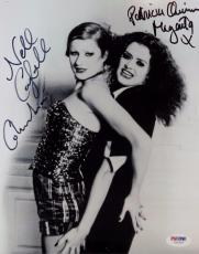 Patricia Quinn ~ Nell Campbell ROCKY HORROR PICTURE SHOW Signed 8x10 Photo PSA B