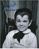 Butch Patrick The Munsters Autographed 8'' x 10'' Pose Photograph with Eddie Muster Inscription